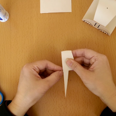 Fold 1/3 down